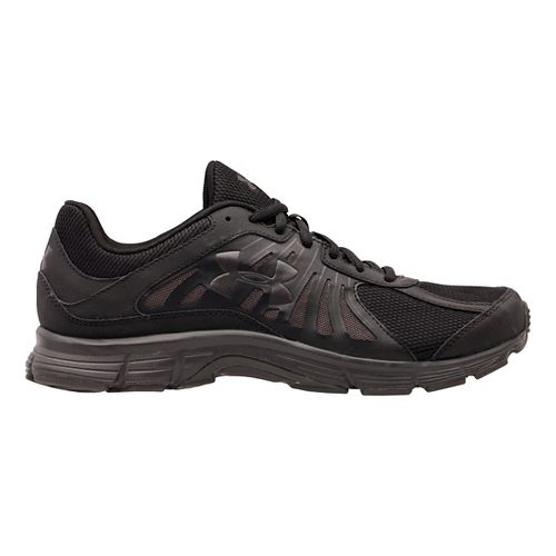 Mens Under Armour Dash RN Running Shoe - Charcoal/Black 7.5