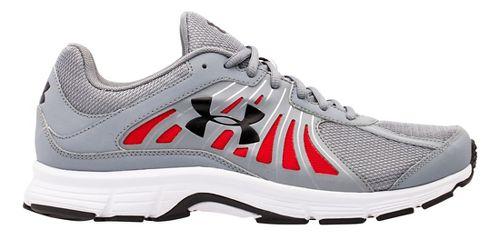 Mens Under Armour Dash RN Running Shoe - Steel/White 7.5