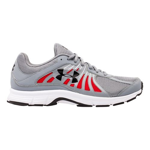 Mens Under Armour Dash RN Running Shoe - Steel/White 8.5