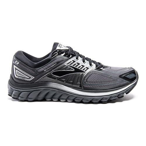 Mens Brooks Glycerin 13 Running Shoe - Black/Silver 9.5