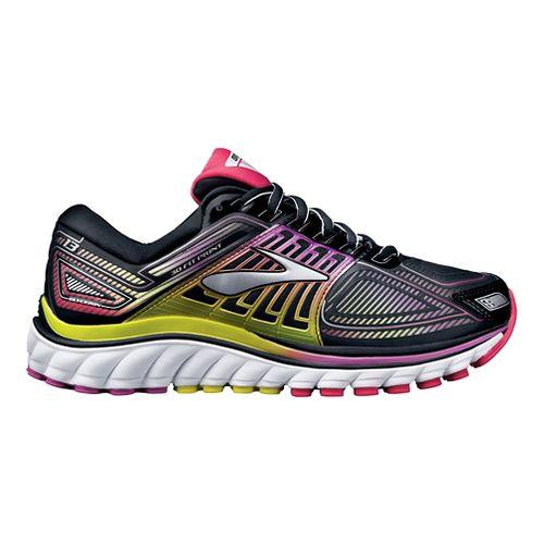 Womens Brooks Glycerin 13 Running Shoe - Black/Violet 8