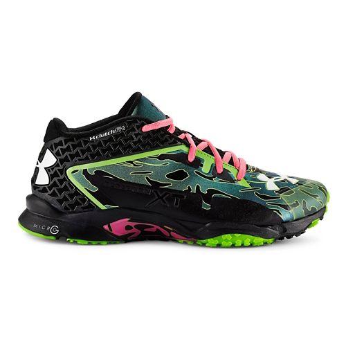 Mens Under Armour Micro G Deception XT Cross Training Shoe - Black/Steel 12.5