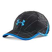 Mens Under Armour Shadow Cap 2.0 Headwear - Black/Blue Jet