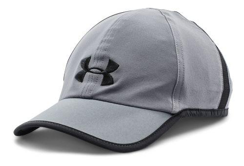Mens Under Armour Shadow Cap 2.0 Headwear - Steel/Black