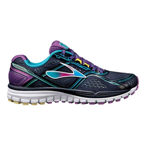 Womens Brooks Ghost 8 Running Shoe - Navy 10