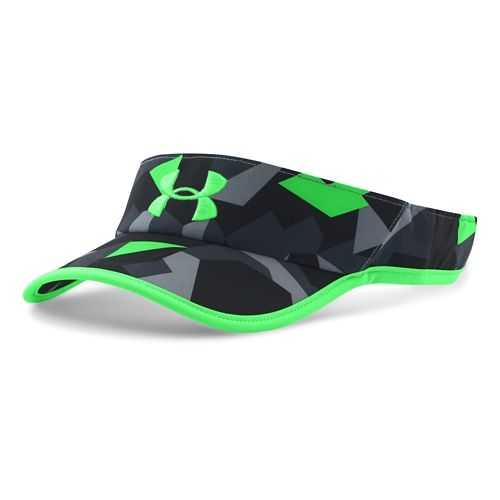 Mens Under Armour Shadow Visor 2.0 Headwear - Black/Black