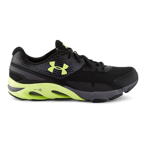 Mens Under Armour Spine HLTR Cross Training Shoe - Black/Lead 10