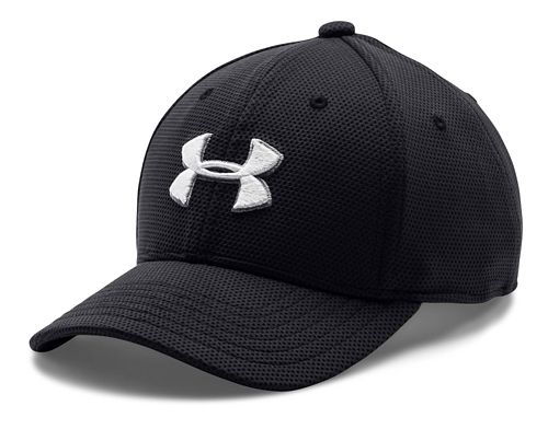 Under Armour Kids Blitzing 2.0 Stretch Fit Cap Headwear - Black XS/S