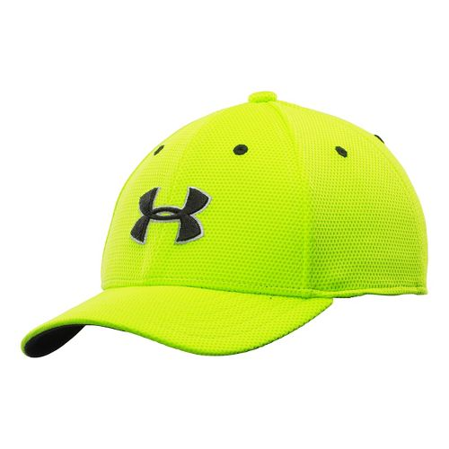 Kids Under Armour Blitzing 2.0 Stretch Fit Cap Headwear - Velocity S/M
