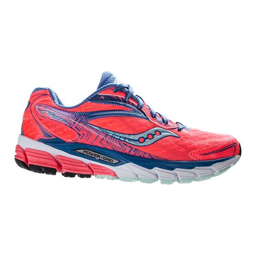 Womens Saucony Ride 8 Running Shoe - Coral 9