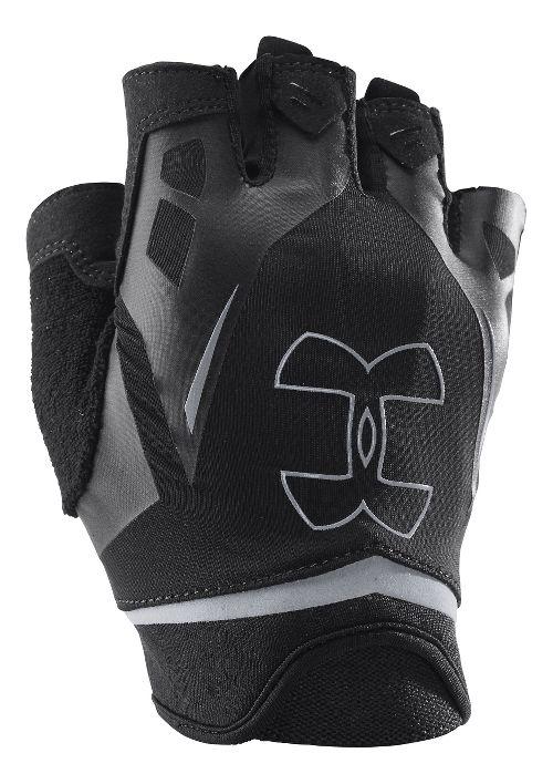 Mens Under Armour Flux Glove Handwear - Black/Black S