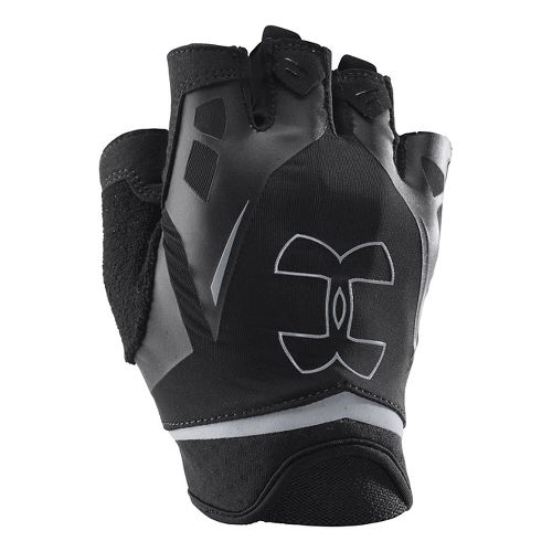 Mens Under Armour Flux Glove Handwear - Black/Black L
