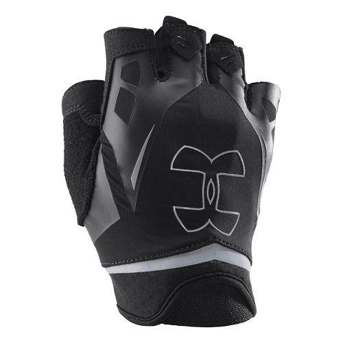 Mens Under Armour Flux Glove Handwear - Steel/Royal XL