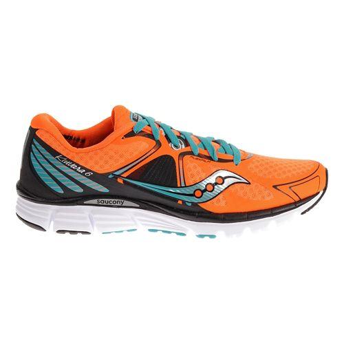 Mens Saucony Kinvara 6 Running Shoe - Orange/Teal 13