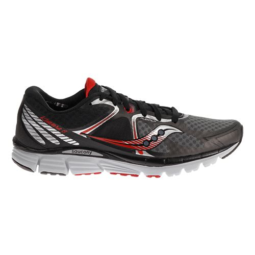 Mens Saucony Kinvara 6 Running Shoe - Black 12.5