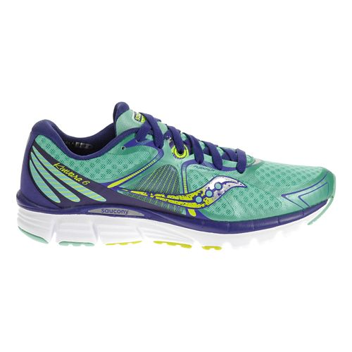 Womens Saucony Kinvara 6 Running Shoe - Blue 10.5