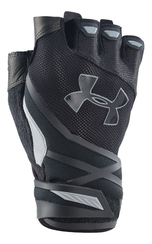 Mens Under Armour Resistor Glove Handwear - Black/Black S