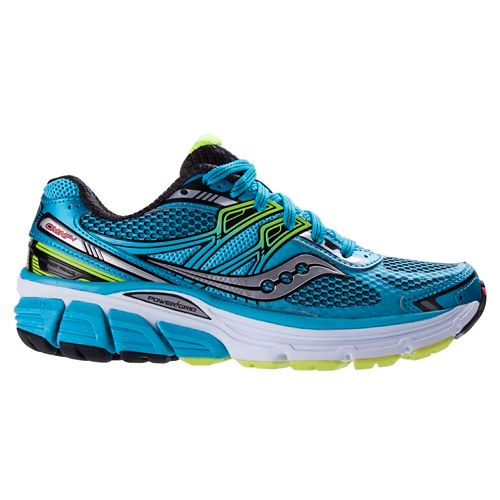 Womens Saucony Omni 14 Running Shoe - Blue 5
