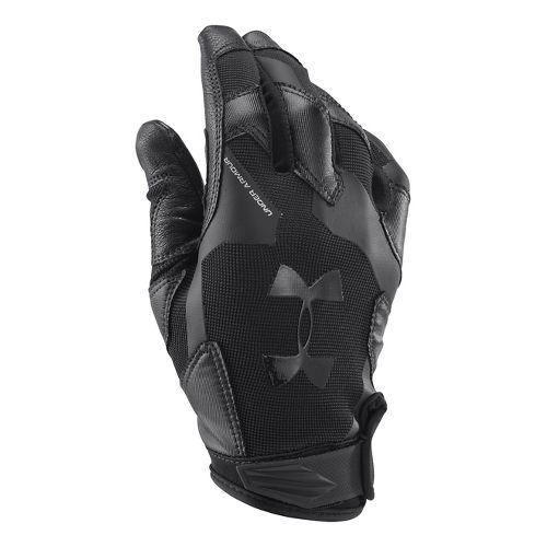 Mens Under Armour Renegade Glove Handwear - Black/Black L