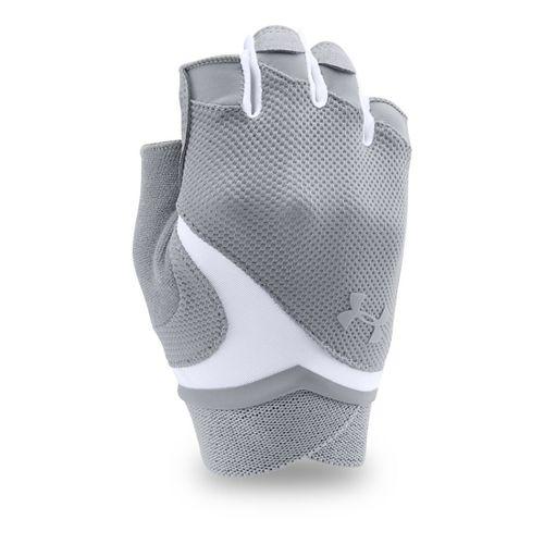 Womens Under Armour Flux Glove Handwear - Steel L