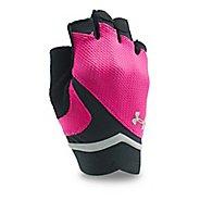 Womens Under Armour Flux Glove Handwear - Tropic Pink/Black L