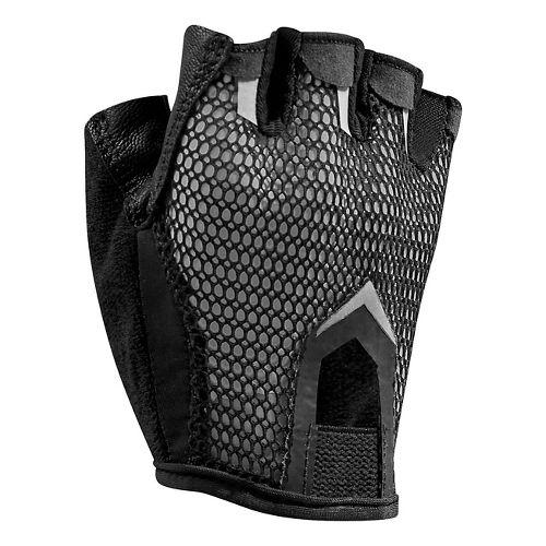 Womens Under Armour Resistor Glove Handwear - Black/Pewter XL