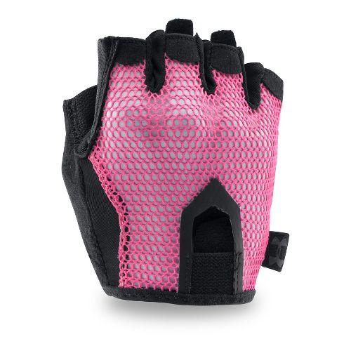 Womens Under Armour Resistor Glove Handwear - Pink Sky S