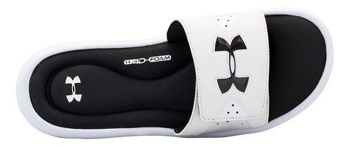 Mens Under Armour Ignite IV SL Sandals Shoe - White/Black 9