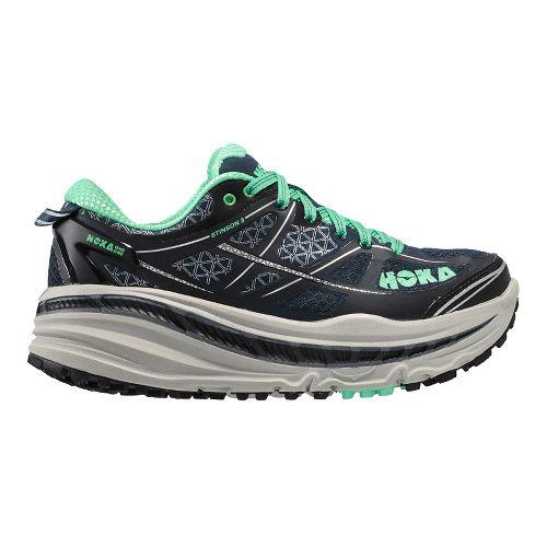 Womens Hoka One One Stinson 3 ATR Trail Running Shoe - Midnight Navy 5