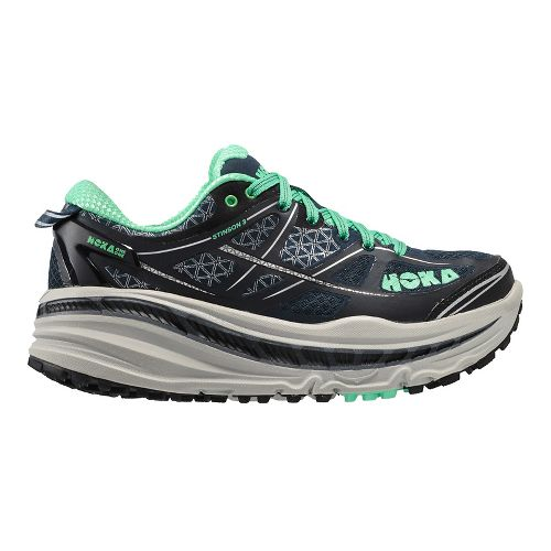 Womens Hoka One One Stinson 3 ATR Trail Running Shoe - Midnight Navy 7