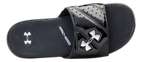 Mens Under Armour Micro G EV II SL Sandals Shoe - Black/Silver 9