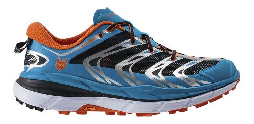Mens Hoka One One Speedgoat Trail Running Shoe - Blue/Orange 14