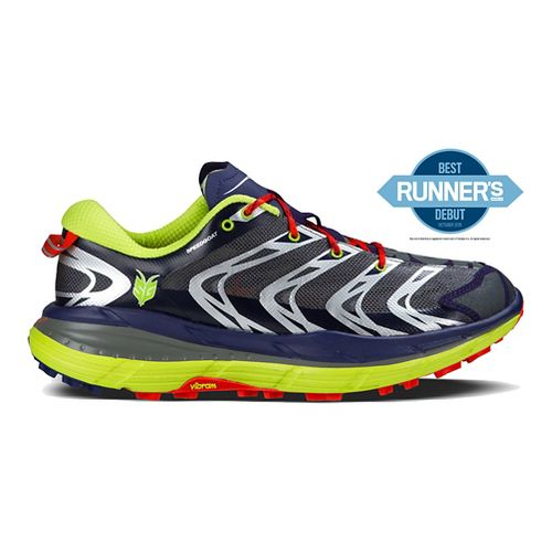 Mens Hoka One One Speedgoat Trail Running Shoe - Austral Aura/Yellow 7