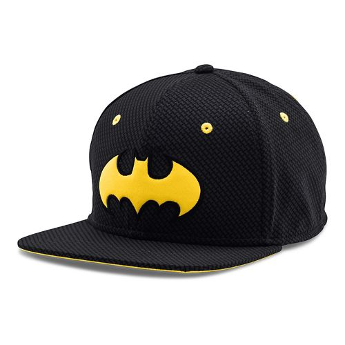 Mens Under Armour Batman Core Team Cap Headwear - Black L/XL