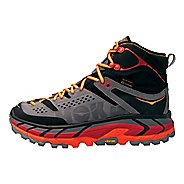 Mens Hoka One One Tor Ultra Hi WP Hiking Shoe - Black/Red 7