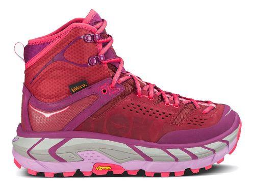 Womens Hoka One One Tor Ultra Hi WP Hiking Shoe - Dark Plum 8.5