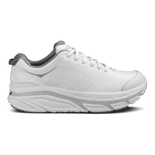 Mens Hoka One One Valor LTR Walking Shoe - White 9