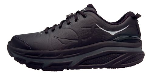 Womens Hoka One One Valor LTR Walking Shoe - Black/Black 5