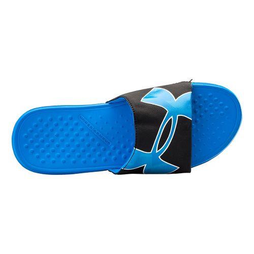 Mens Under Armour Strike Warp SL Sandals Shoe - Blue Jet/Black 12