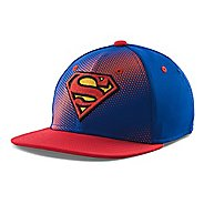Kids Under Armour Superman Basic Stretch Fit Cap Headwear