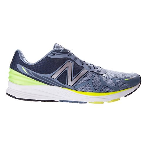 Mens New Balance Vazee Pace Running Shoe - Grey/Yellow 9.5