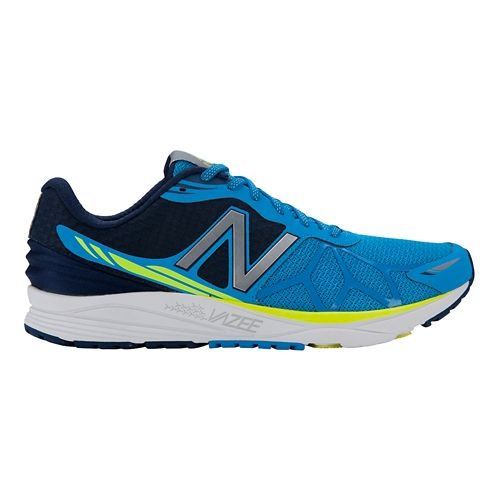 Mens New Balance Vazee Pace Running Shoe - Blue/Yellow 9.5