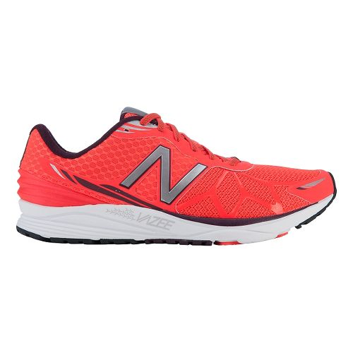 Mens New Balance Vazee Pace Running Shoe - Orange/White 8.5