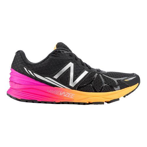 Womens New Balance Vazee Pace Running Shoe - Black/Pink 7.5