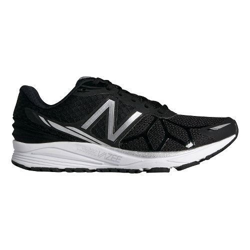 Womens New Balance Vazee Pace Running Shoe - Black/White 7