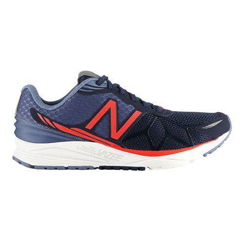 Womens New Balance Vazee Pace Running Shoe - Blue/Orange 10.5
