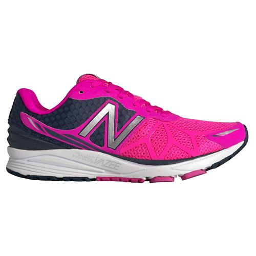 Womens New Balance Vazee Pace Running Shoe - Pink/Black 5.5