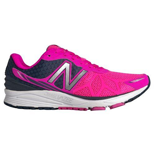 Womens New Balance Vazee Pace Running Shoe - Pink/Black 7.5