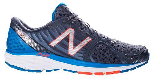 Mens New Balance 1260v5 Running Shoe - Silver/Blue 8