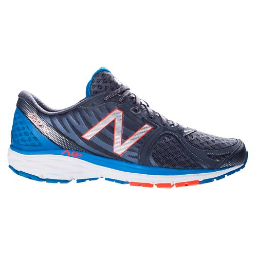 Mens New Balance 1260v5 Running Shoe - Silver/Blue 12